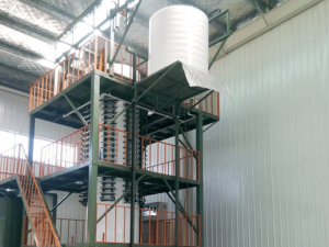 Vertical Continuous Foam Machine for Round Block