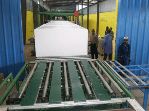 Horizontal Continuous Foam Machine for both Polyether and Polyester foam